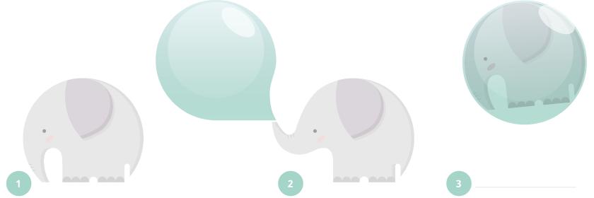 Las pompas del eleflante