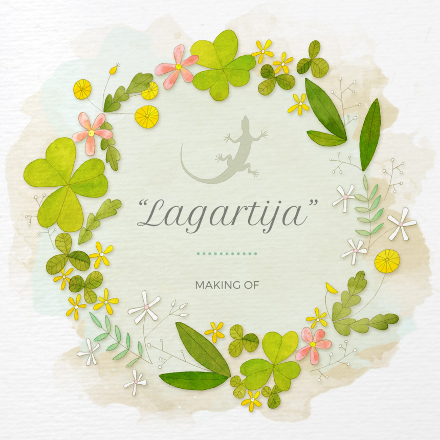 Lagartija - making of