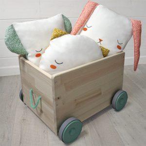 Colección CocoLoro: cojines durmientes