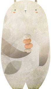 Silvanio telúrico, pastor platóniko de piedras y líquenes
