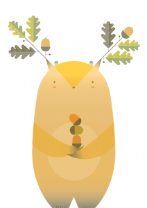 Flora y fauna de platonia: Silvanio arbóreo, pastor de árboles y arbustos