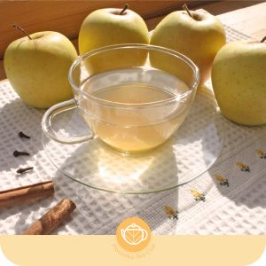Tisana platónika de manzana y canela