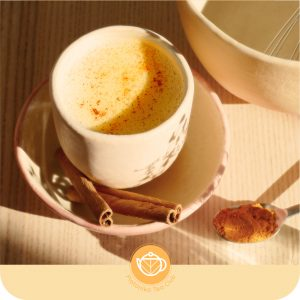 Cúrcuma latte made in Platonia
